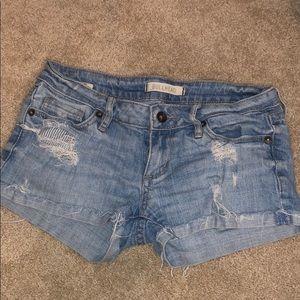 Bullhead Light Wash Jean Shorts